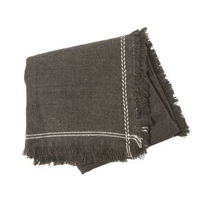 Olive & Pique Lola Blanket Scarf in Charcoal NWT